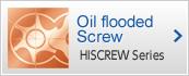 Oil flooded Screw