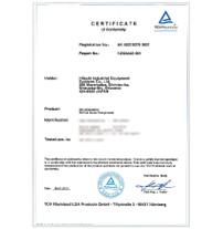 ISO8573-1:2010 CLASS 0 TÜV Certification