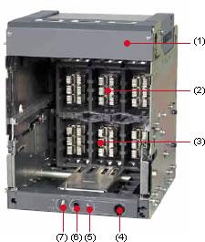 Air Circuit Breakers Akh Aks Akn Series External